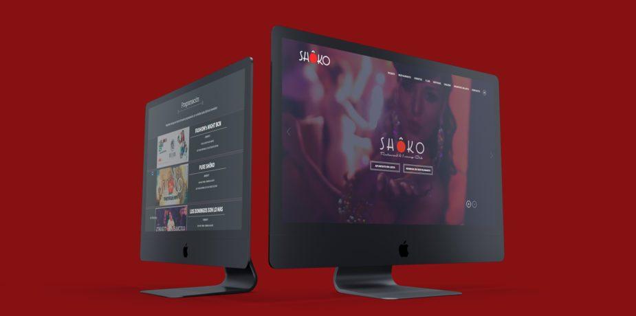 Diseño y desarrollo web para SHOKO
