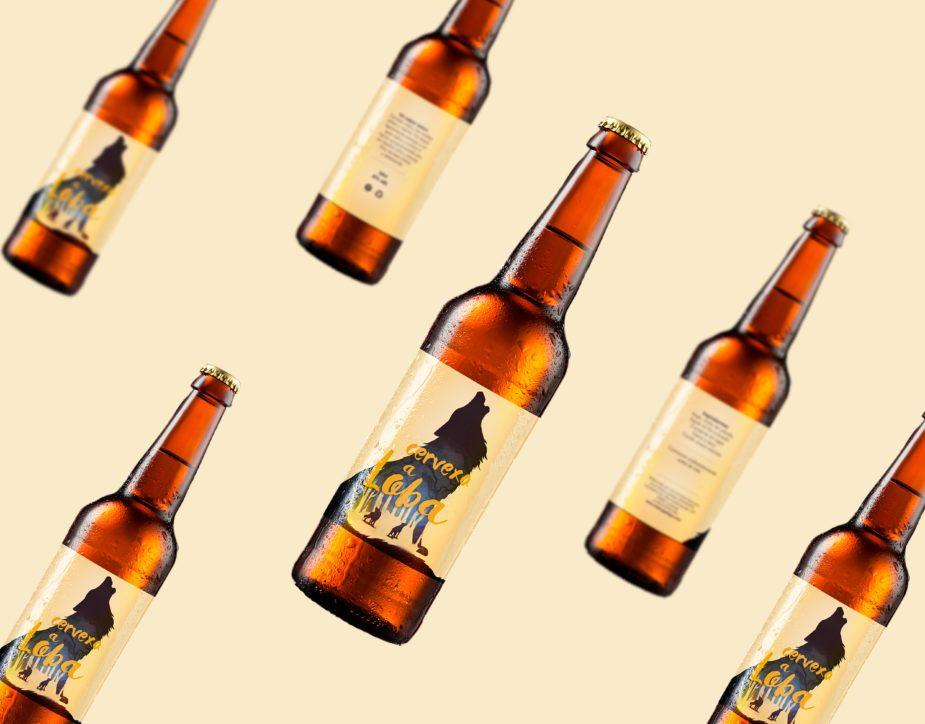 Diseño etiquetas para cerveza packaging