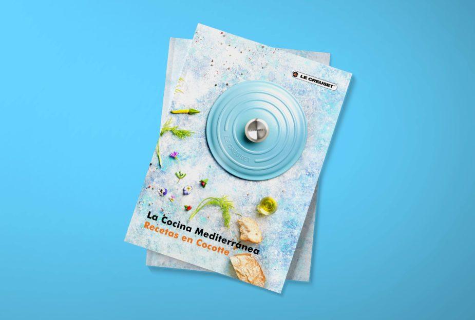 Diseño libro cocina Le Creuset