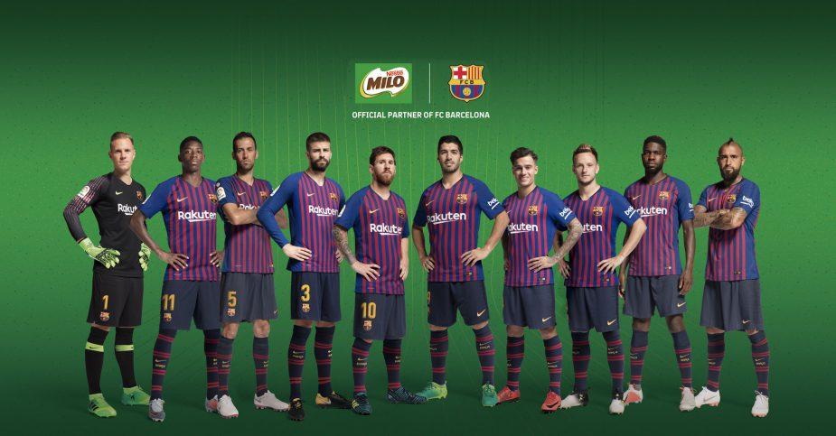 FC BARCELONA & MILO